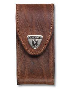 Victorinox Etui en cuir brun 91/93 mm 5-8 épaisseurs