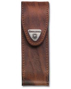 Victorinox Etui en cuir brun 111 mm 2-3 épaisseurs