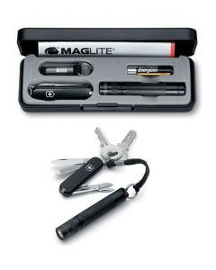 Victorinox set Maglite torch LED and Swiss army knife