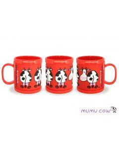 Cofter Mumu Cow Rubber Red Mug