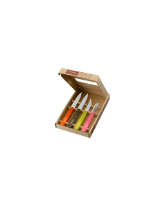 "Opinel Box ""Les Essentiels""-50' colors"