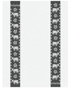 Meyer-Mayor Kitchen Towel Cow Edelweiss