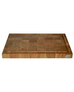 KAI Head wood chopping block with juice groove