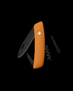SWIZA Swiss Knives ALLBLACK Edition D01 Orange