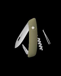 SWIZA Swiss Knives ALLMATT Edition D01 Olive