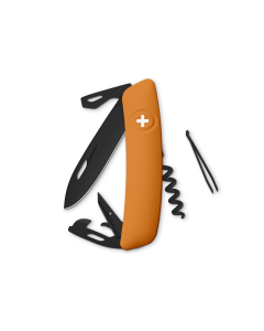 SWIZA Swiss Knives ALLBLACK Edition D03 Orange