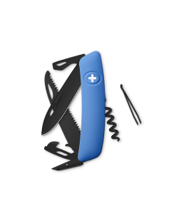 SWIZA Swiss Knives ALLBLACK Edition D05 Blue