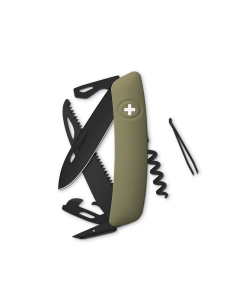 SWIZA Swiss Knives ALLBLACK Edition D05 Olive