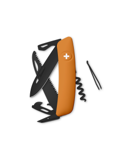 SWIZA Swiss Knives ALLBLACK Edition D05 Orange