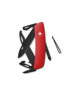 SWIZA Swiss Knives ALLBLACK Edition D06 Red