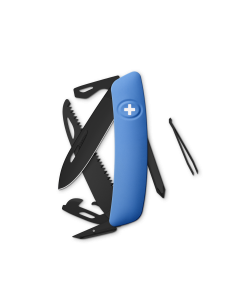 SWIZA Swiss Knives ALLBLACK Edition D06 Blue