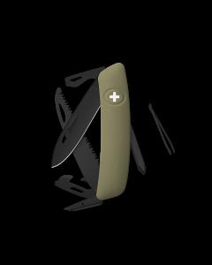 SWIZA Swiss Knives ALLBLACK Edition D06 Olive