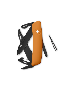 SWIZA Swiss Knives ALLBLACK Edition D06 Orange