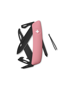 SWIZA Swiss Knives ALLBLACK Edition D06 Pink