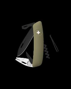 SWIZA Swiss Knives ALLBLACK Edition TT03 Olive