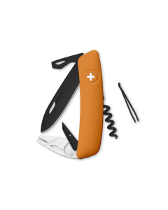 SWIZA Swiss Knives ALLBLACK Edition TT03 Orange