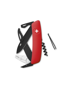 SWIZA Swiss Knives ALLBLACK Edition TT05 Red