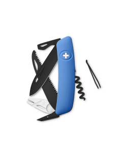 SWIZA Swiss Knives ALLBLACK Edition TT05 Blue