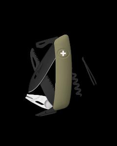 SWIZA Swiss Knives ALLBLACK Edition TT05 Olive