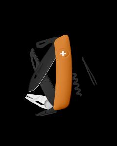 SWIZA Swiss Knives ALLBLACK Edition TT05 Orange