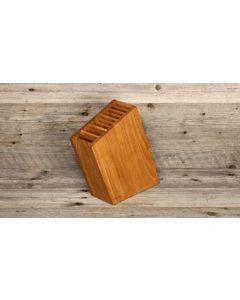 Sknife Oak wood 10 knives block (empty)