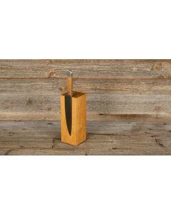 Sknife Oak wood 5 knives block (empty)
