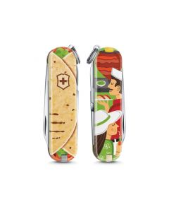 """Victorinox Knife Classic """"Mexican Tacos"""" Limited Edition 2019"""