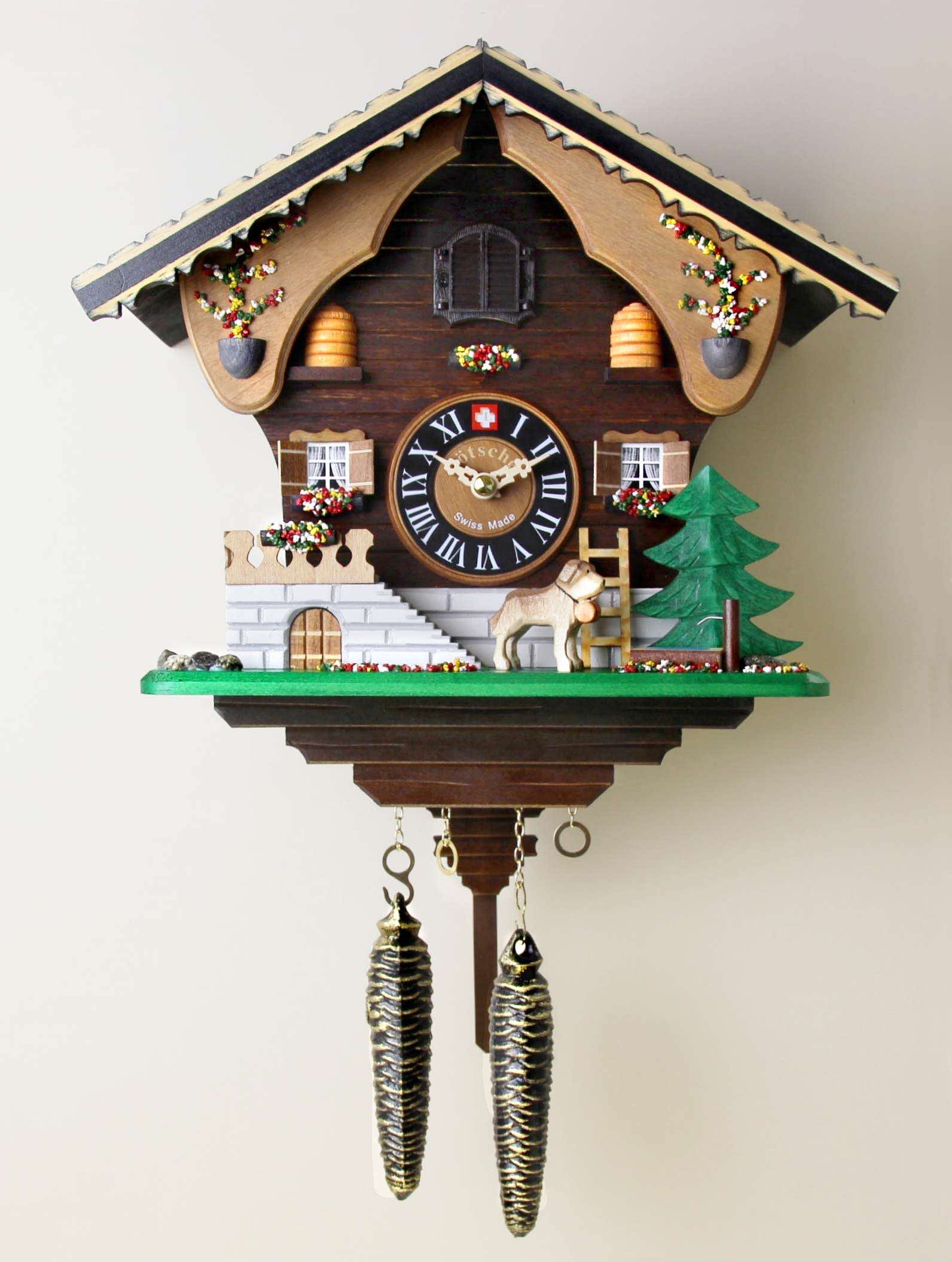 L tscher cuckoo clock cuckoo clock by l tscher watches clocks - Cuckoo watches ...