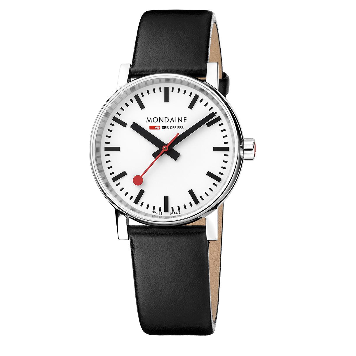 Mondaine evo2 35 mm mondaine watches clocks - Mondaine travel clock ...