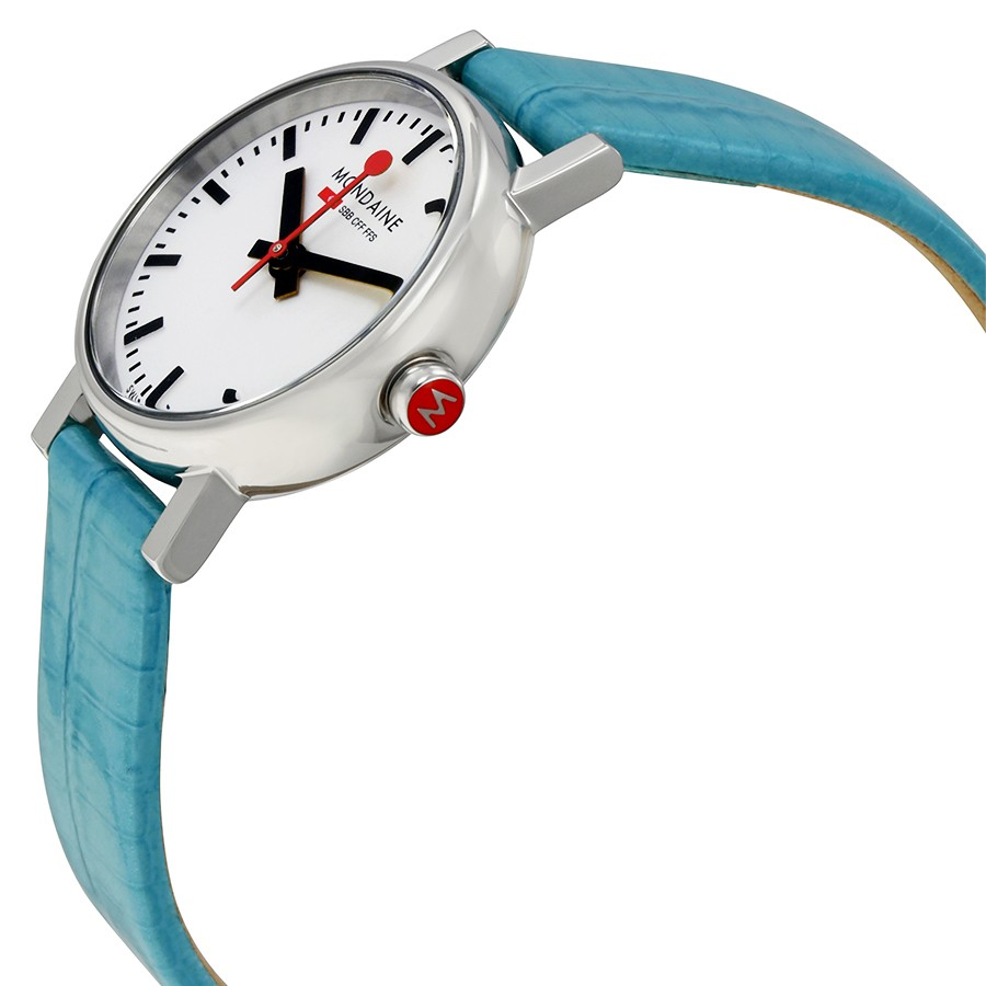 Mondaine evo petite evo petite evo mondaine watches clocks - Mondaine travel clock ...
