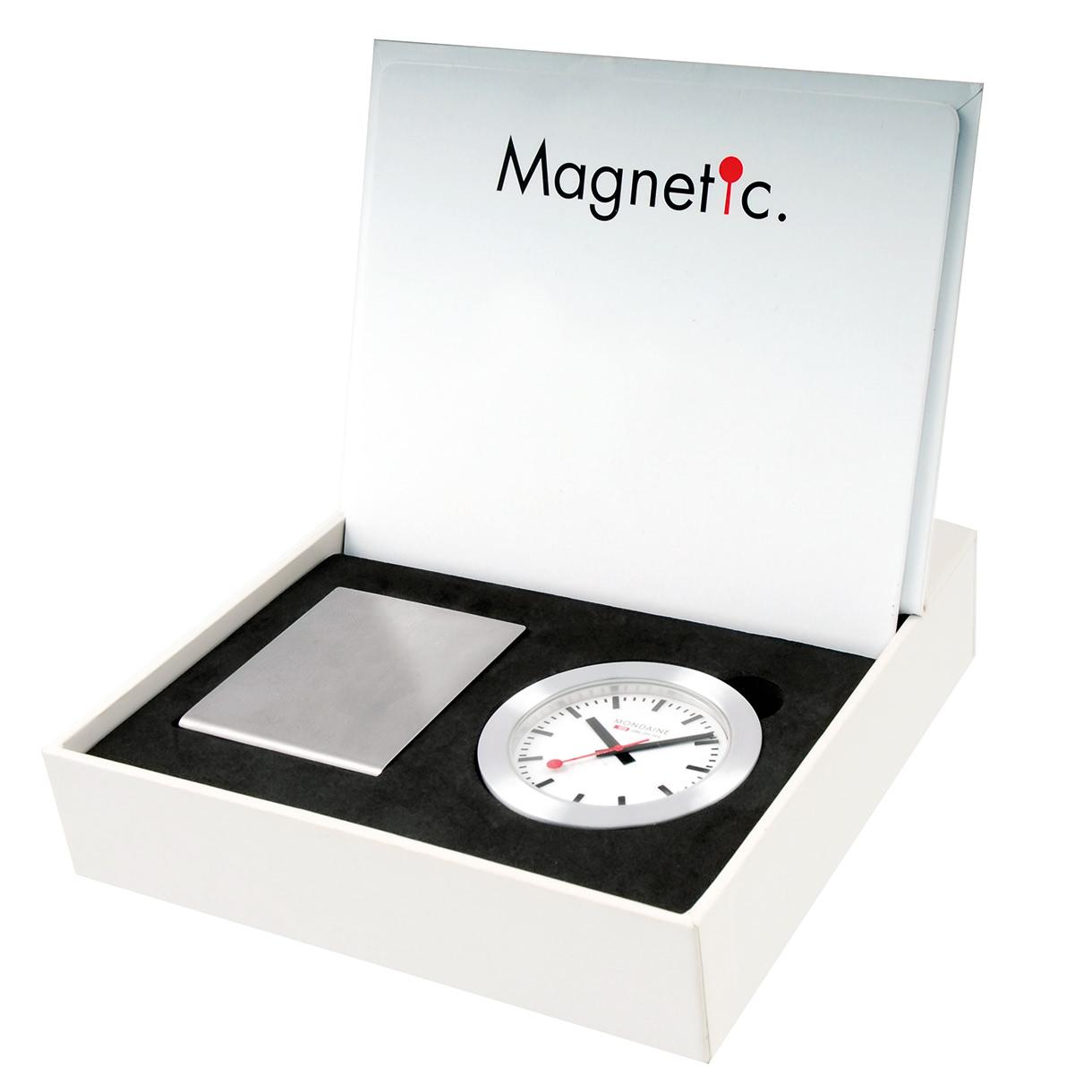 Mondaine magnet clock - Mondaine travel clock ...