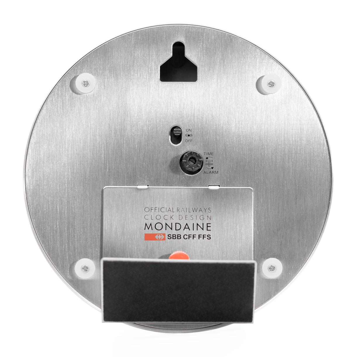 Mondaine Mini Clock Alarm