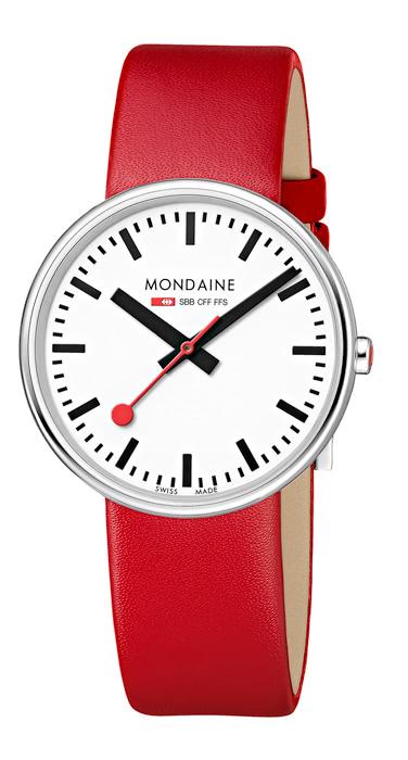 Mondaine mini giant mondaine watches clocks - Mondaine travel clock ...