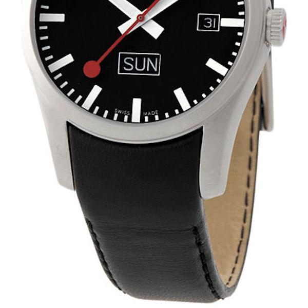 Mondaine Strap Black 20mm Mondaine Watches Amp Clocks