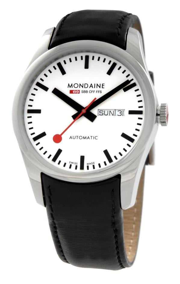 Mondaine Strap Black 22mm Mondaine Watches Amp Clocks