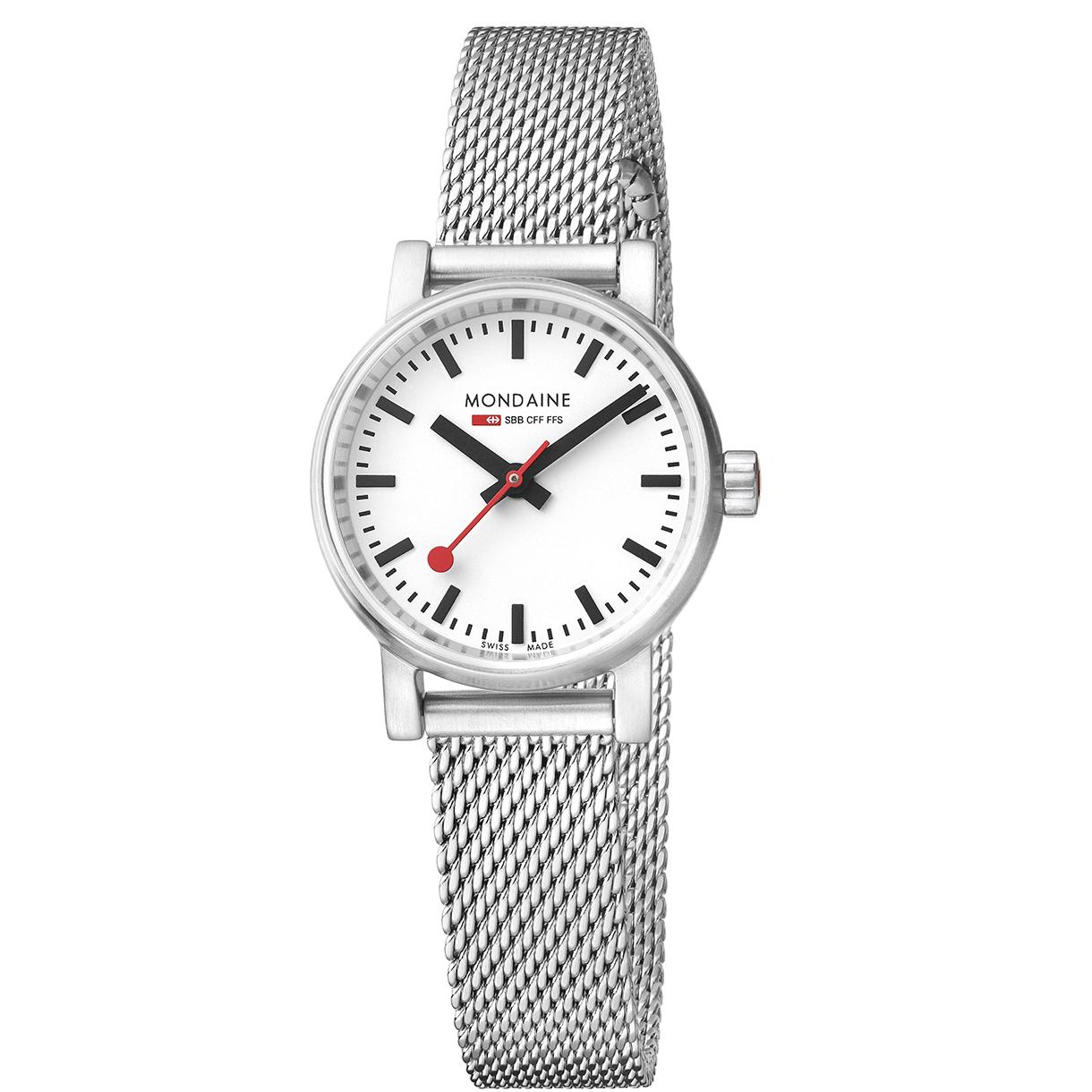Mondaine evo2 petite mondaine watches clocks - Mondaine travel clock ...