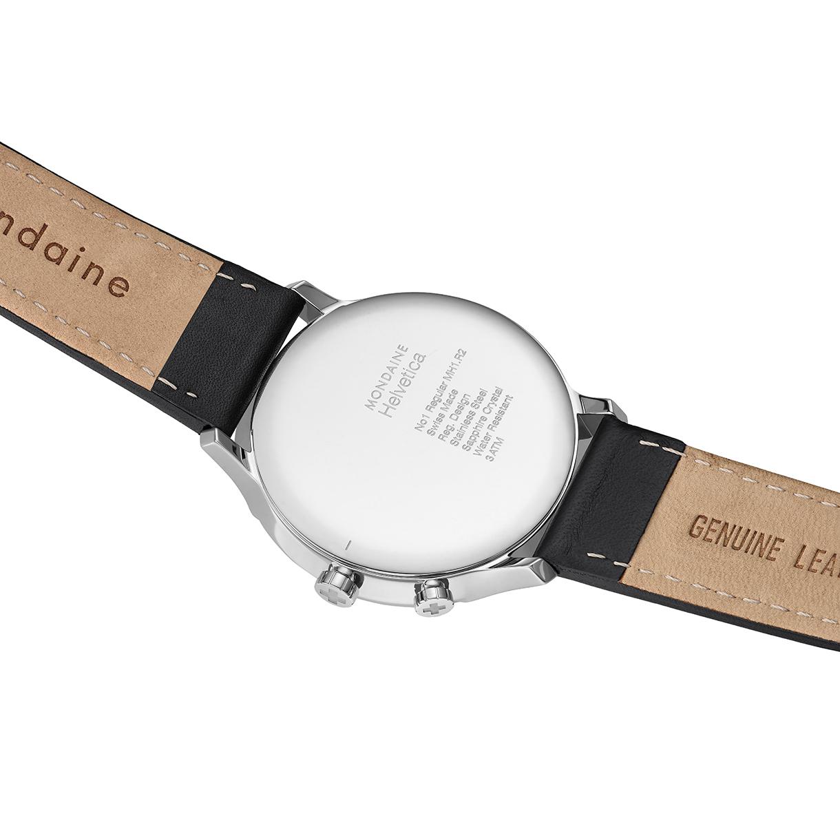 Mondaine helvetica 2nd time zone mondaine helvetica watches clocks - Mondaine travel clock ...