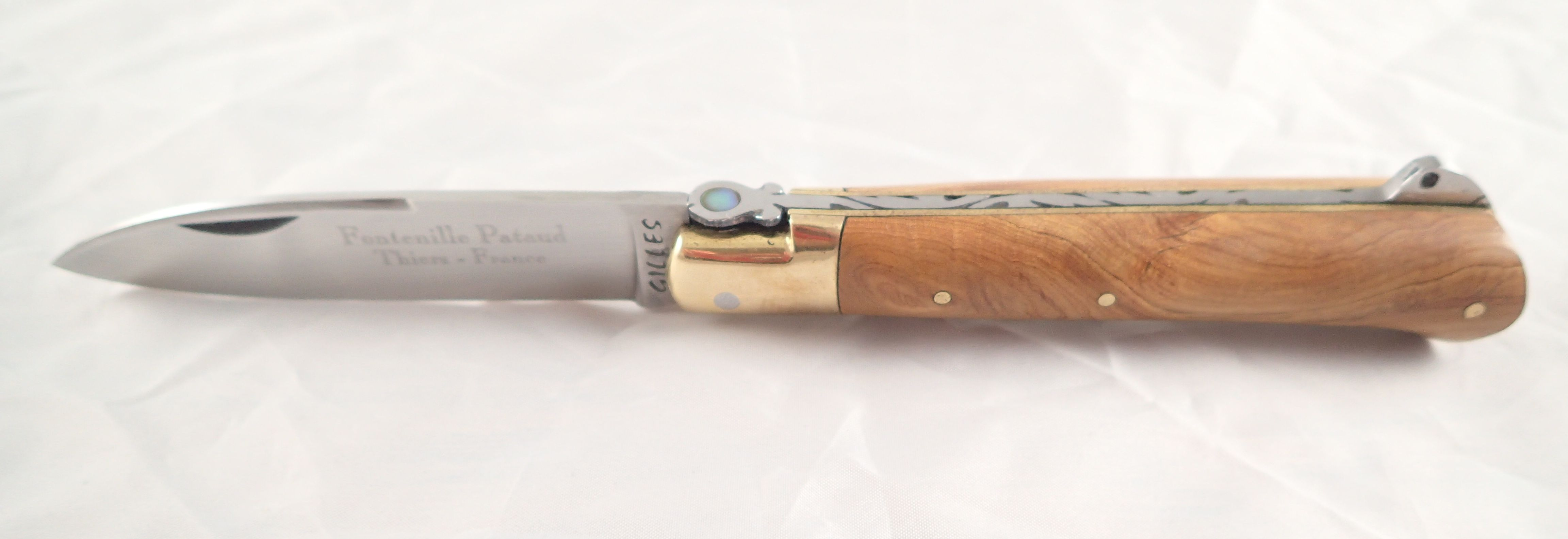 Fontenille Pataud Yssingeaux Knife Olivewood Cutlery
