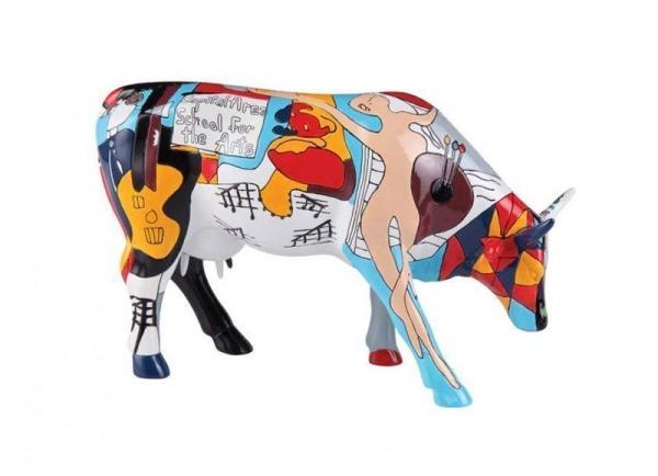 Cow Parade Picowso S School Of The Arts