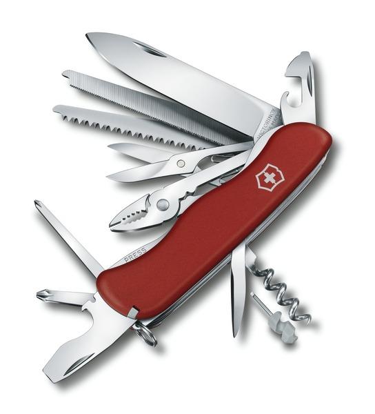 Victorinox Workchamp 111mm 4 3 8 Lock Blade
