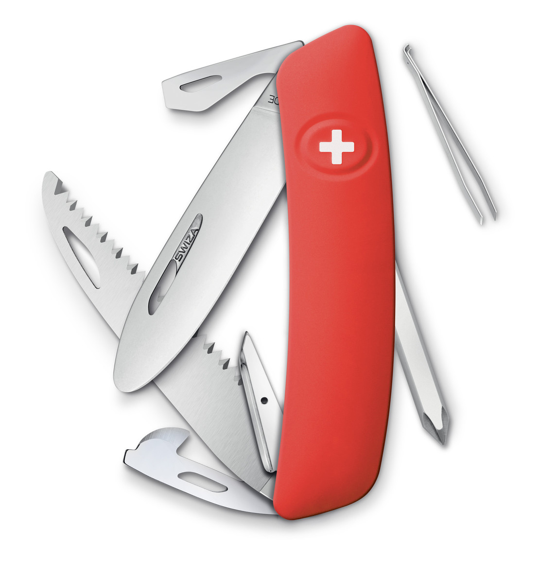 Swiza Pocket Knife J06 Junior Red Swiss Army Knives
