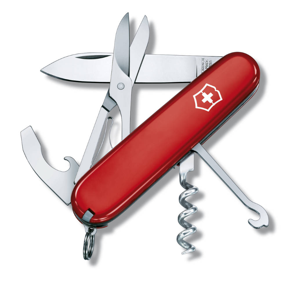 Victorinox Compact Red 91mm 3 5 8 Corkscrew