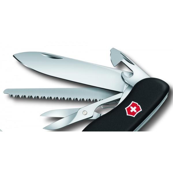 Victorinox Outrider Black 111mm 4 3 8 Lock Blade