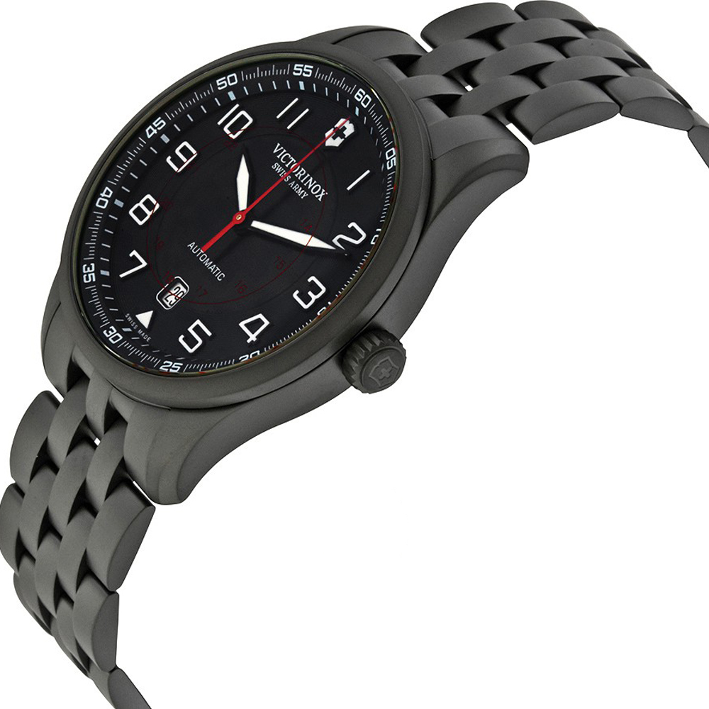Victorinox Swiss Army Watch Airboss Mechanical Black