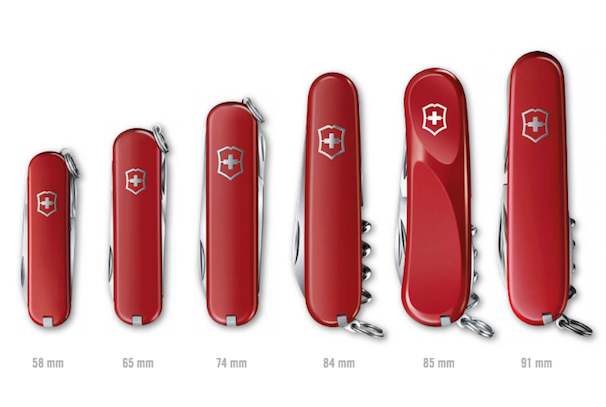 Swiss army knife collectors guide